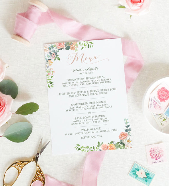 Grace Wreath Menu