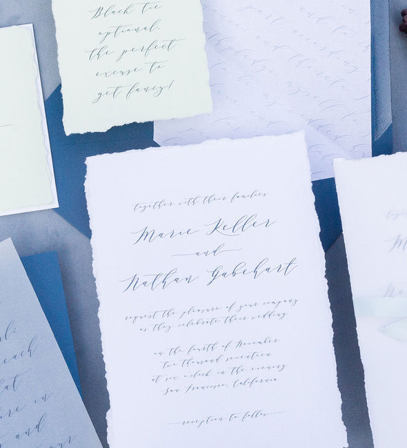 Madison Script Wedding Invitation