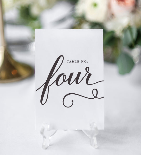Whimsical King Table Number