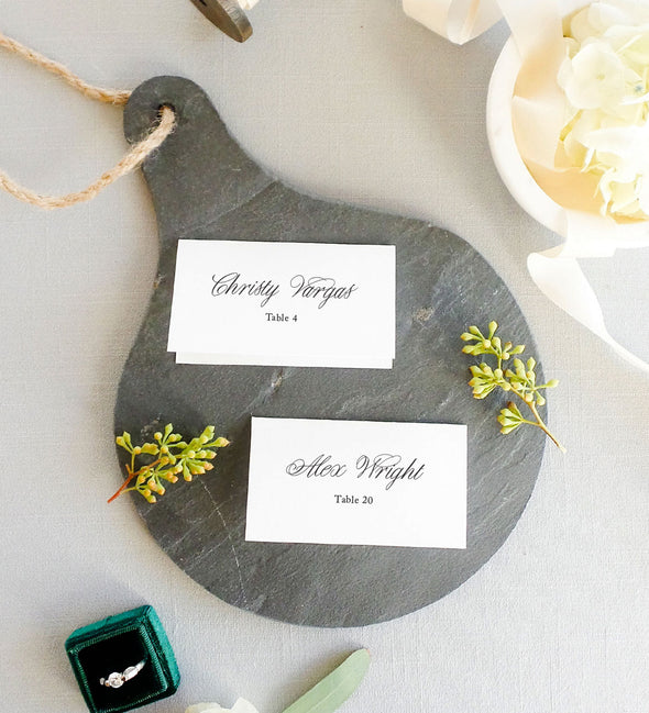 Wispy Elegance Place Card