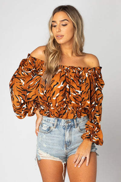 Constance Off The Shoulder Top