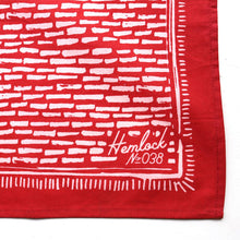 Premium Cotton Bandana - Ruby