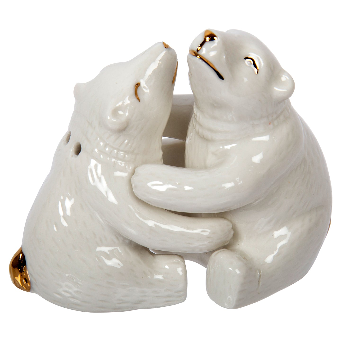 Salt & Pepper Shakers Bear Hug