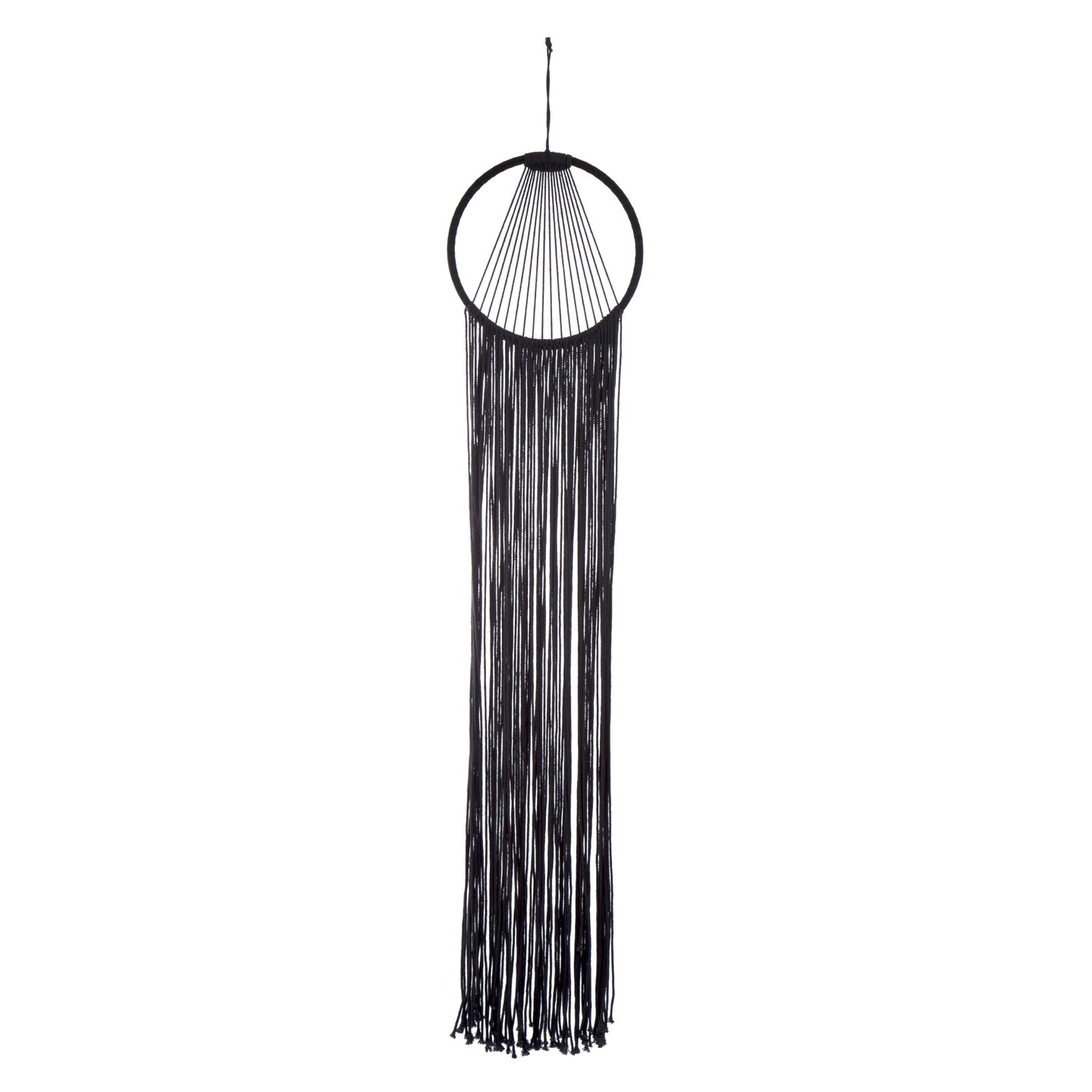Modern Black Wall Hanging