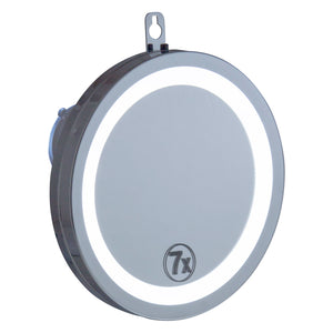 Mirror w/Suction/LED
