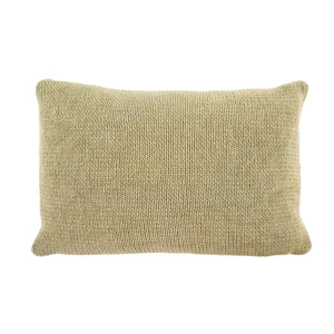 Cotton Knit Pillow Green