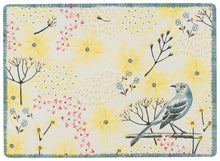 Placemats Set/4 Cork Backed Mockingbird