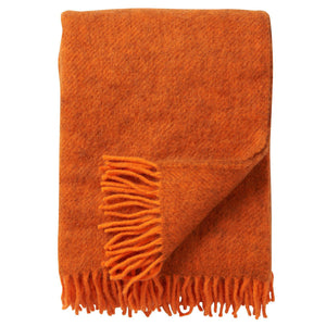 Gotland Throw Orange