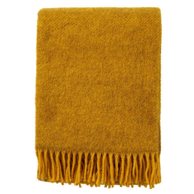Gotland Throw Yellow