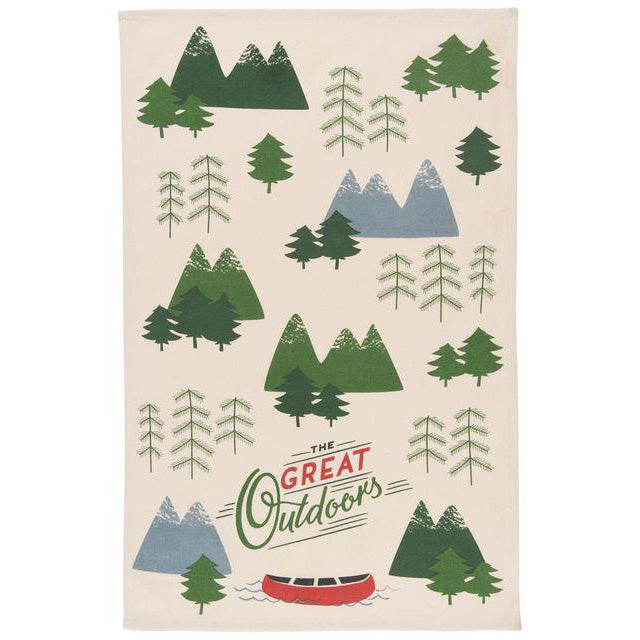 Teatowel The Great Outdoors