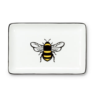 Yellow Bee Tray 4x6in.