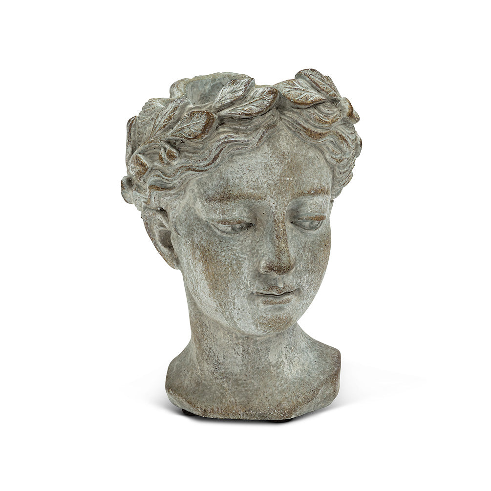 Woman Head Planter XS