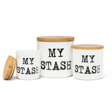 My Stash Canisters