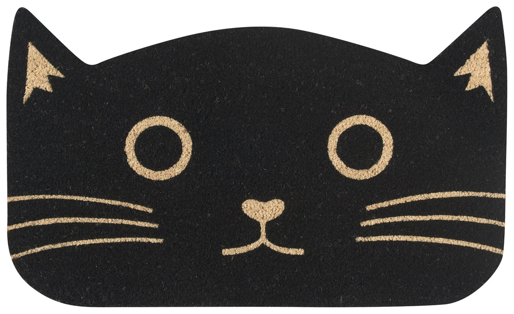 Doormat Black Cat