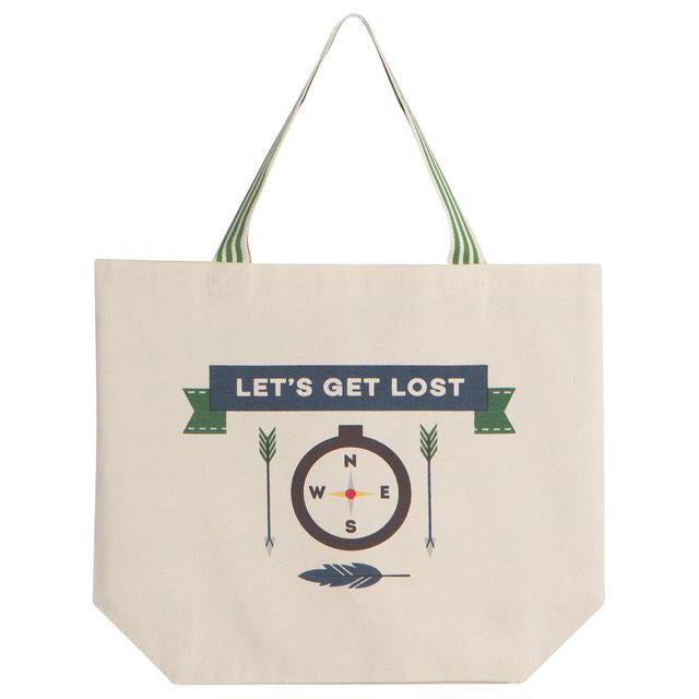 Tote Bag Let's Get Lost