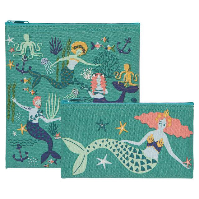 Snack Bags Set/2 Mermaids