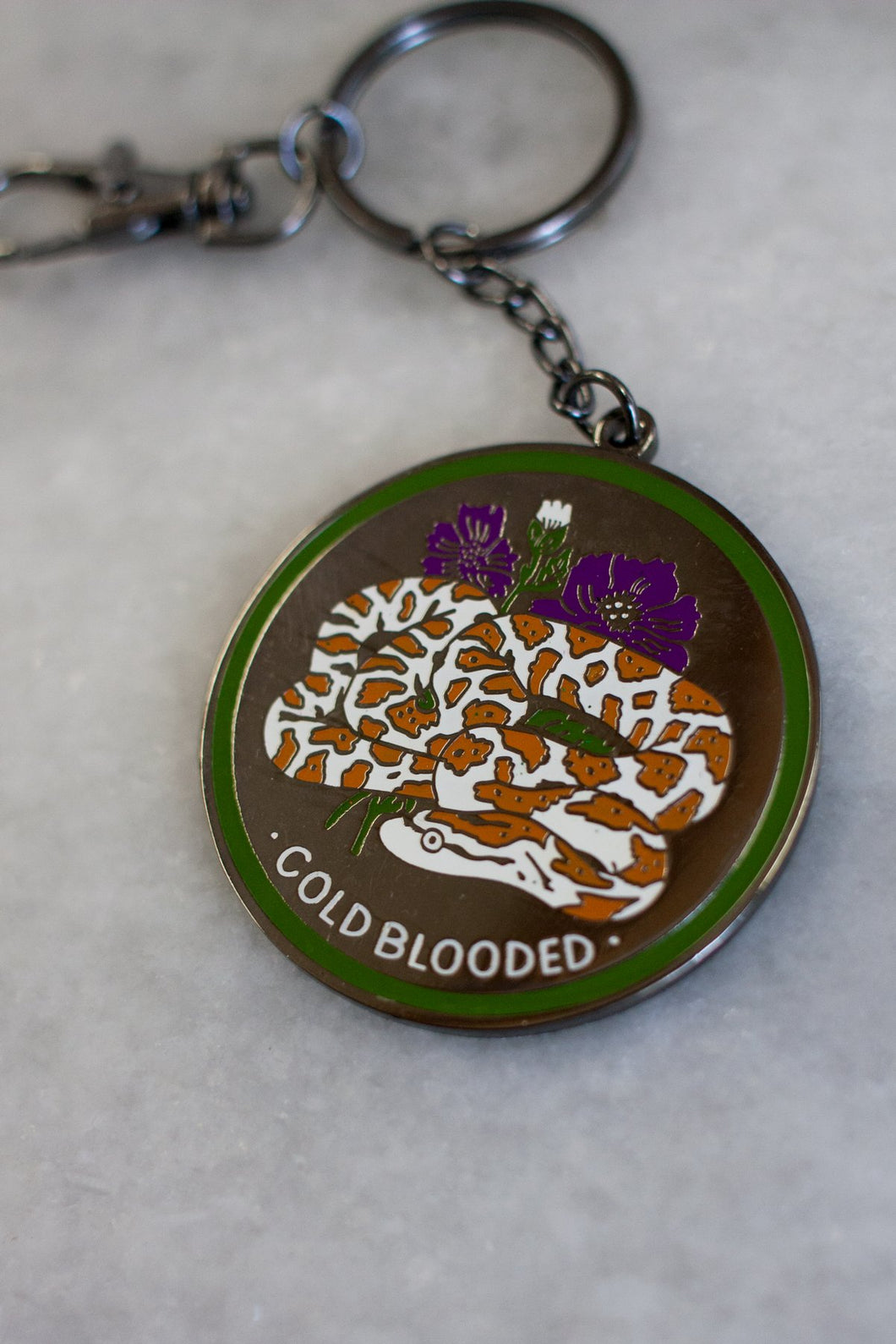 Cold Blooded Key Chain