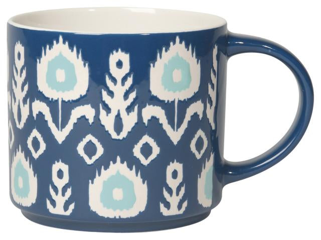 Ikat Stacking Mug