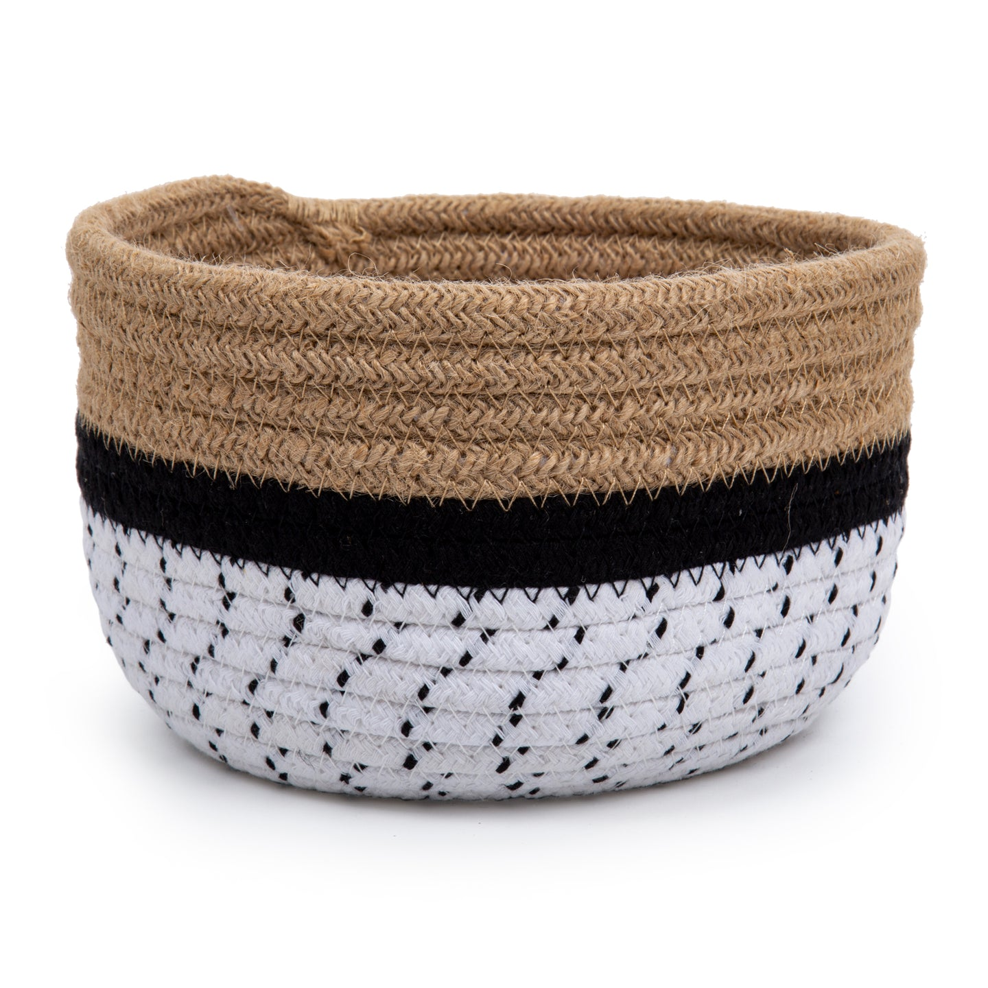 Cotton/Jute Storage Basket
