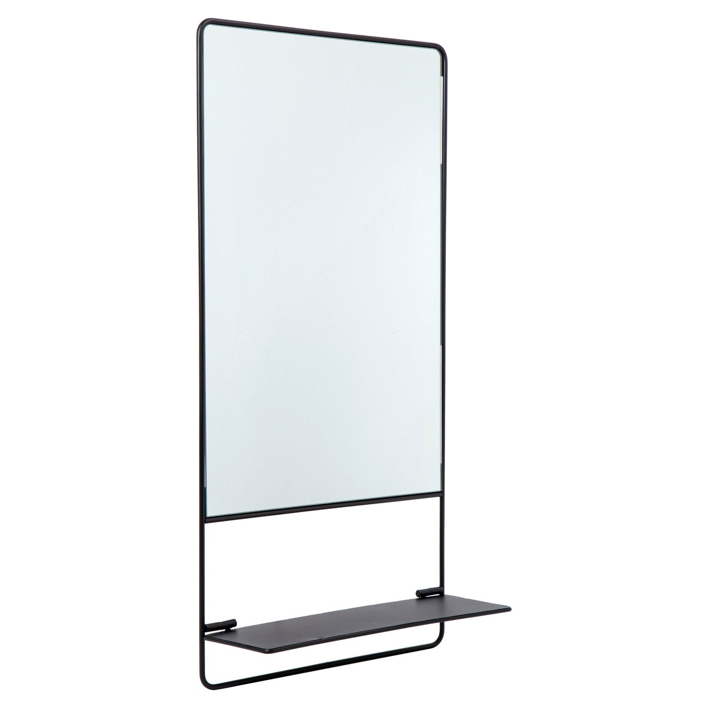 Mirror w/Shelf Rectangle