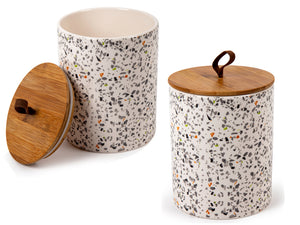 Terrazzo Canister