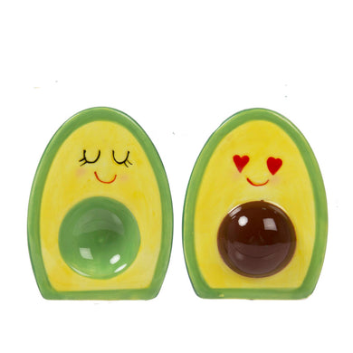 Salt & Pepper Shakers Avocado