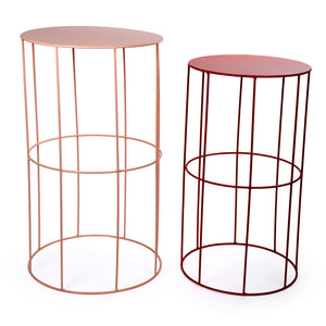 Wire Side Tables Set/2