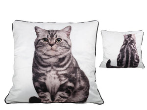 Cat Cushion 2-Sided