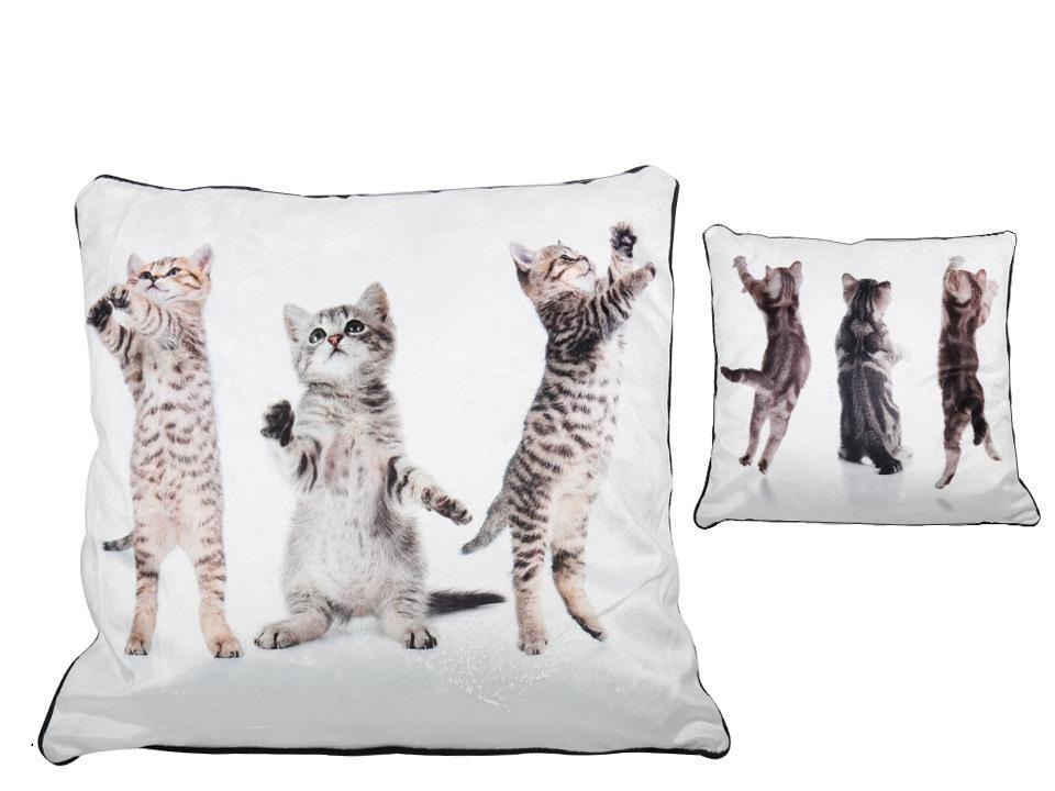 Kittens Cushion 2-Sided