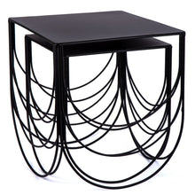 Scallop Nesting Table