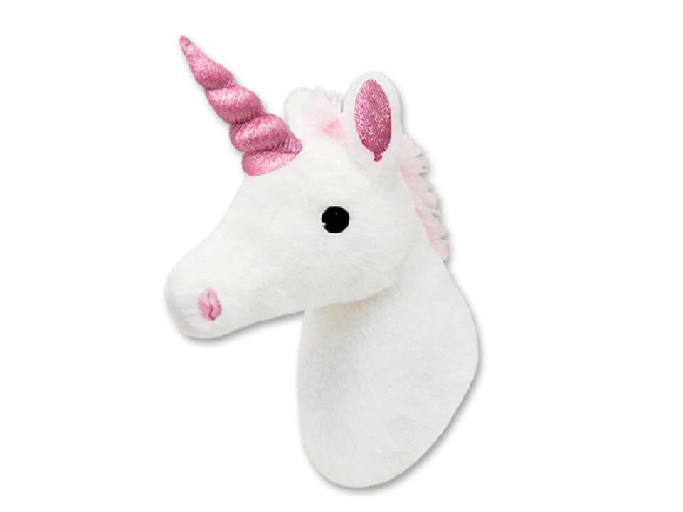 Plush Wall Mount Unicorn