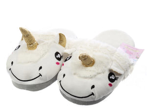 Unicorn Slippers Adult