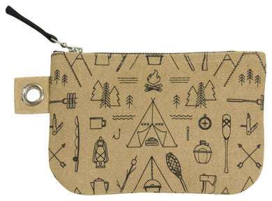 Zip Pouch Small Adventure Awaits