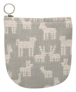 Halfmoon Pouch Woven Animal Pack