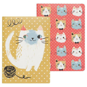 Notebook Set/2 Meow Meow