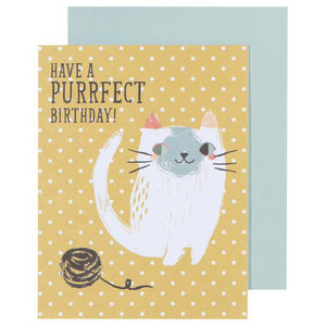 Greeting Card Meow Meow