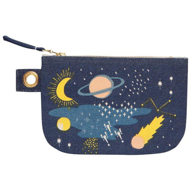 Zip Pouch Small Cosmic