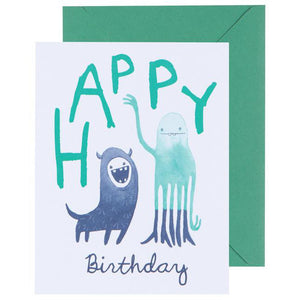 Greeting Card Creature Club