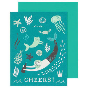 Greeting Card Sea Spell