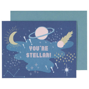 Greeting Card Cosmic