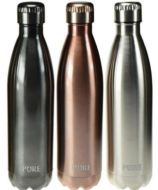 PURE Insulated Bottle Metallic