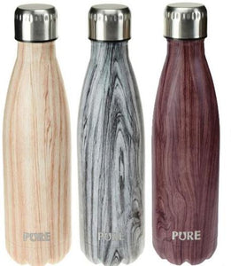 PURE Insulated Bottle Woodgrain