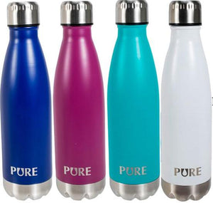 PURE Insulated Bottle Matte Solid Colour