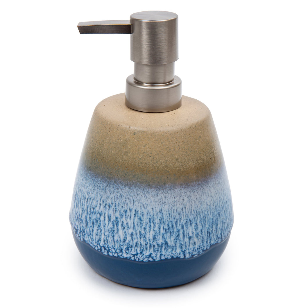 Glazed Ceramic Soap/Lotion Pump