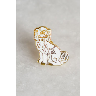Staffordshire Cat Lapel Pin