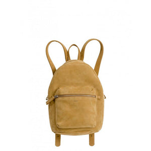 Leather Backpack Honey