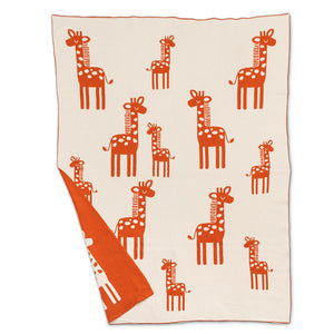 Giraffe Throw