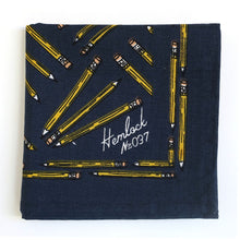 Premium Cotton Bandana - Pencils