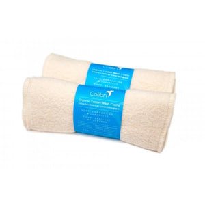 Organic Cotton Sherpa Washcloths S/5