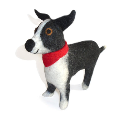 Felted Border Collie